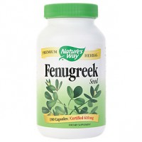 Nature's Way Fenugreek Seed 610 mg (180 Caps)