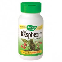 Nature's Way Red Raspberry Leaves 480 MG (100 Capsules)