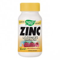 Nature's Way Zinc Lozenges With Echinacea & Vitamin C (60 Lozenges)