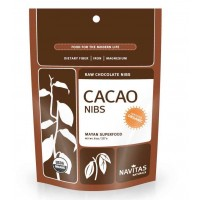 Navitas Naturals Organic Raw CACAO NIBS 8 oz (227 gm) Pouch