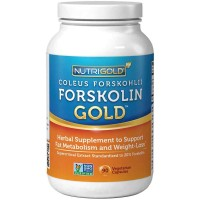 Nutrigold Forskolin Gold 125mg Veg Capsules (90) - Weight Loss