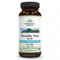 Organic India BREATHE FREE Caps (250)