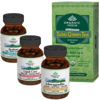 Organic India HEALTHY HEART & CHOLESTEROL CONTROL Pack