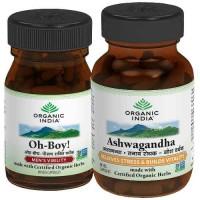 Organic India Men Optimal Health Pack