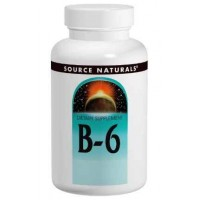 Source Naturals Coenzymated B-6 50mg, 250 Tablets