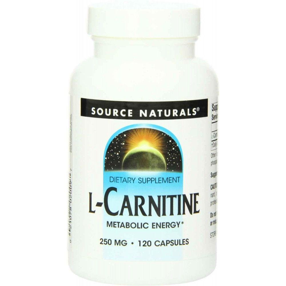 L carnitine in food sources