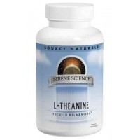 Source Naturals L-Theanine 200 Mg, 120 Capsules - Anxiety, Relaxation