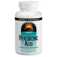 Source Naturals Hyaluronic Acid 100mg, 30 Tablets - Healthy Joints