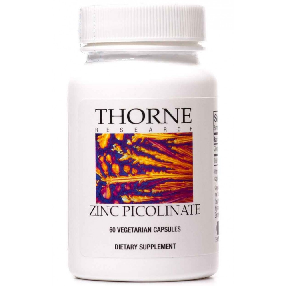 Buy Thorne Research Zinc Picolinate High Absorption Zinc