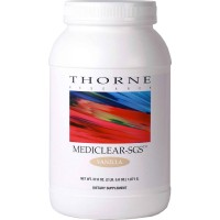Thorne Research - MediClear-SGS - Vanilla Flavor - Rice and Pea Protein-Based Drink Powder with a Complete Multivitamin-Mineral Profile and Flavonoids - 37.8 oz (1071 gm)
