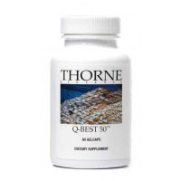 Thorne Research - Q-Best 50 - 60 Gelcaps - Cardiovascular Health