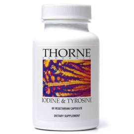 Thorne Research - Iodine - Tyrosine - 60 Vegetarian Capsules