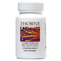 Thorne Research - Chromium Picolinate - 60 Vegetarian Capsules