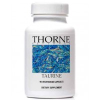 Thorne Research - Taurine - Amino Acid Supplement to Support Heart, Nerve, and Liver - 90 Vegetarian Capsules