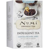 Numi CHOCOLATE EARL GREY Black Tea (12 TB)