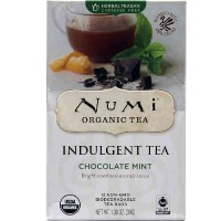 Numi CHOCOLATE MINT Indulgent Tea (12 TB)