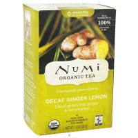 Numi DECAF GINGER LEMON Green Tea (16 TB)