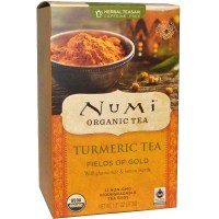 Numi FIELDS OF GOLD Turmeric Tea (12 TB)