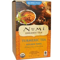 Numi GOLDEN TONIC Turmeric Tea (12 TB)