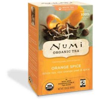 Numi ORANGE SPICE White Tea (16 TB)