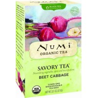 Numi Savory BEET CABBAGE Black Tea (12 TB)