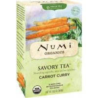 Numi CARROT CURRY Savory Green Tea (12 TB)