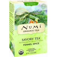 Numi FENNEL SPICE Savory Green Tea (12 TB)