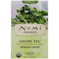 Numi SPINACH CHIVE Savory Green Tea (12 TB)