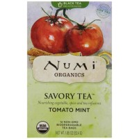 Numi Savory TOMATO MINT Black Tea (12 TB)