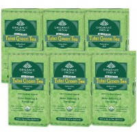 Organic India TULSI GREEN Tea Set of 6 (25 TB each)