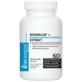 Boswellia Serrata Extract - 60 Capsules - Boswellin® + Patented by Bronson Labs