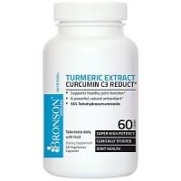 Curcumin C3 Reduct TURMERIC EXTRACT 60 Capsules by Bronson Labs