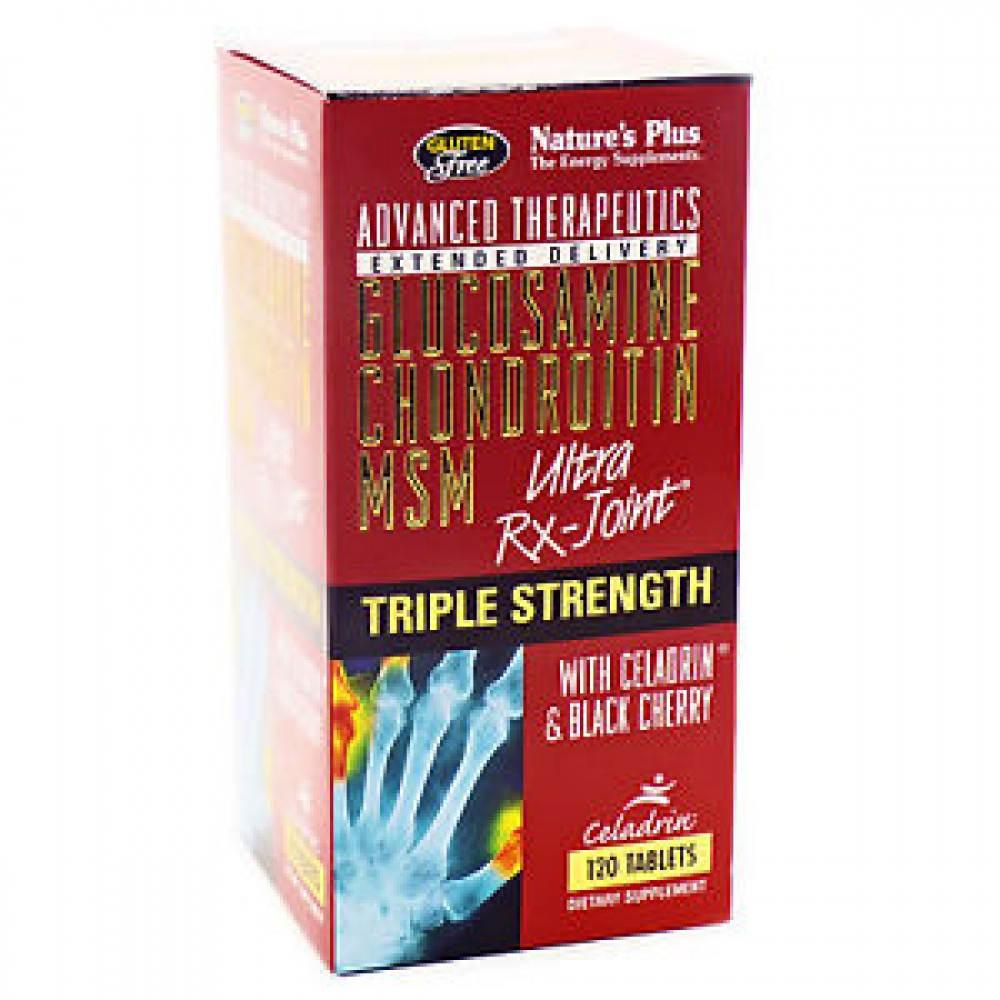 Buy Triple Strength Ultra Rx Joint Glucosamine Chondroitin Msm By Puritan Pride Soother 90 Caplets Natures Plus