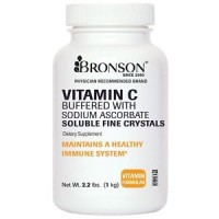 VITAMIN C CRYSTALS Buffered with Sodium Ascorbate 2.2 lbs by Bronson Labs