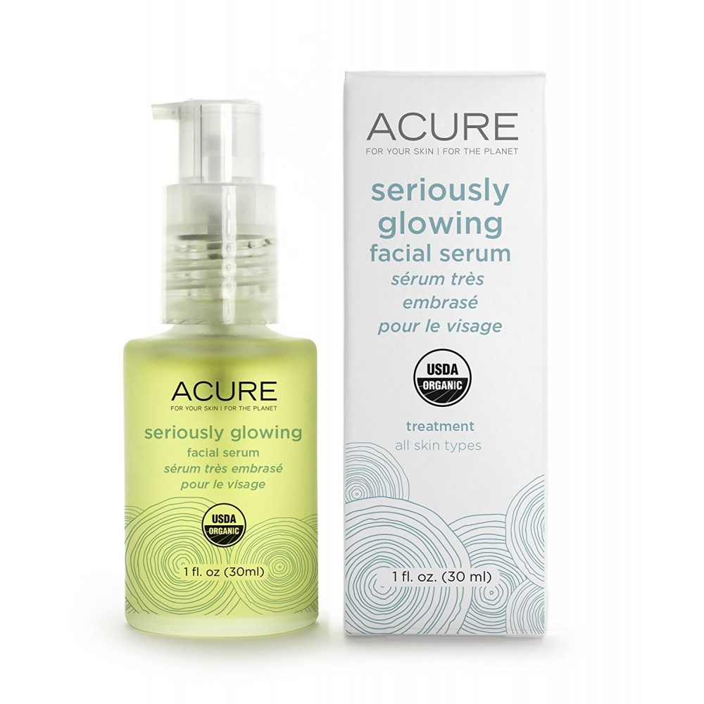 Buy ACURE Seriously Glowing Facial Serum, 1 Ounce Online