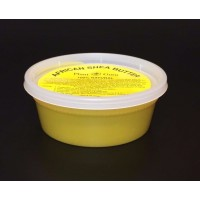 "African Shea Butter ""Yellow/Gold"" Pure Raw Unrefined 8 oz. ""container"""