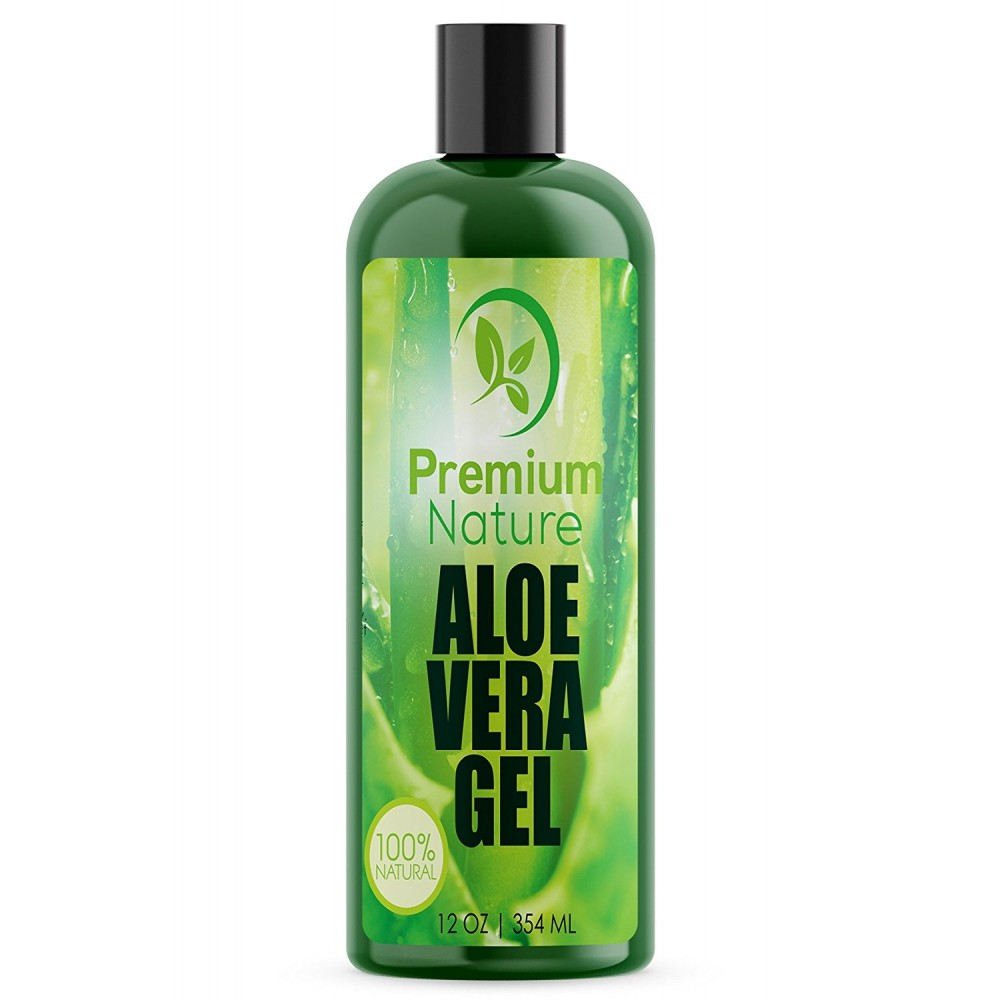 Buy Aloe Vera Gel For Face Body Amp Hair 12 Oz Pure