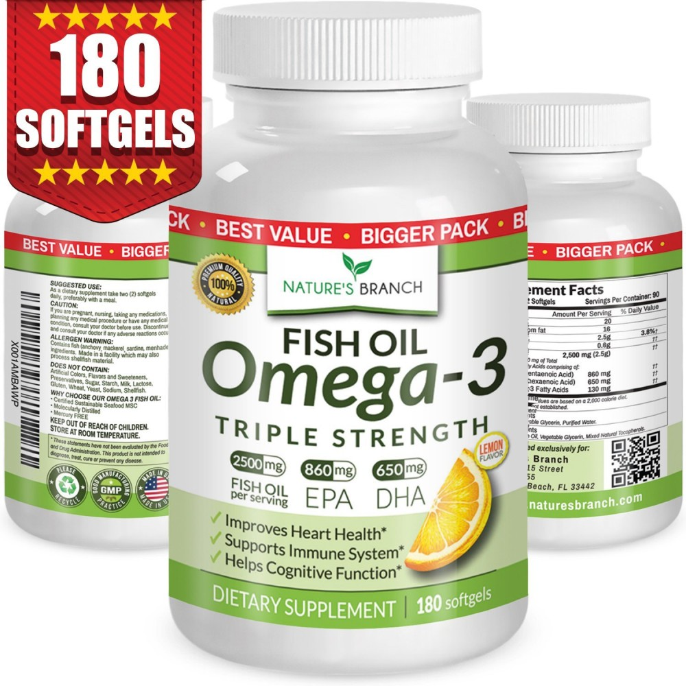 Fish oil vaginal health