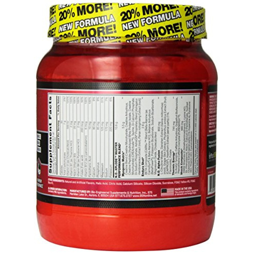 beta alanine xplode review