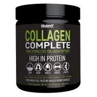 Collagen Complete - Pure Collagen Peptides - Hydrolyzed, Grass-Fed, Pasture-Raised, Non-GMO, and Gluten Free Collagen Powder - 44 Servings