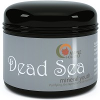Dead Sea Mud Mask - Enriched with Organic Mineral Youth Formula to Balance Oily Skin, Remove Acne, Wrinkles & Exfoliate - Anti Aging Facial Cleanser Heals Oily Skin, Psoriasis, Minimizes Pores, Cleansing Detoxifying Scrub - 9oz