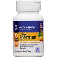 Enzymedica - Digest Spectrum, Multiple Food Intolerance Formula, 30 Capsules