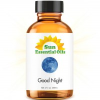 Good Night Blend - 2 fl oz Best Essential Oil (Compare to DoTerra Serenity, Young Living Peace & Calming) - 2 ounces (59ml) (Chamomile, Copaiba, Lavender, Sandalwood & More)