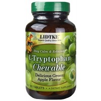 Green Apple L-Tryptophan LIDTKE 60 Chewable