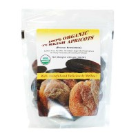 Indus Organics Jumbo Turkish Dried Apricots, 1 Lb, Sulfite Free, No Added Sugar, Premium Grade, Freshly Packed