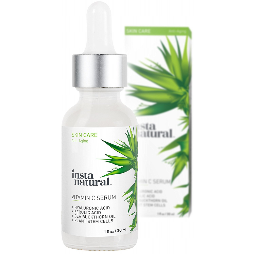 buy instanatural vitamin c serum with hyaluronic acid vit e natural organic an online. Black Bedroom Furniture Sets. Home Design Ideas