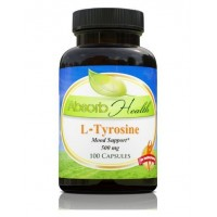 L-Tyrosine | Improves Mood | Boost Cognitive Function | 100 Capsules | 500 MG Per Capsule