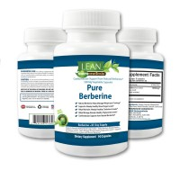 LEAN Nutraceuticals Berberine 500mg 90 Capsules MD Formulated Supplement For Healthy Blood Sugar and Cholesterol Support