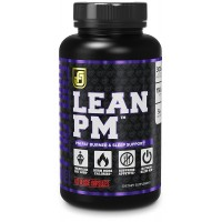 LEAN PM Night Time Fat Burner, Sleep Aid Supplement, & Appetite Suppressant for Men and Women - 60 Stimulant-Free Veggie Weight Loss Pills