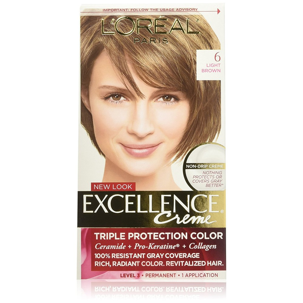 Buy Loreal Excellence Creme Light Brown 6 1 Each Online India